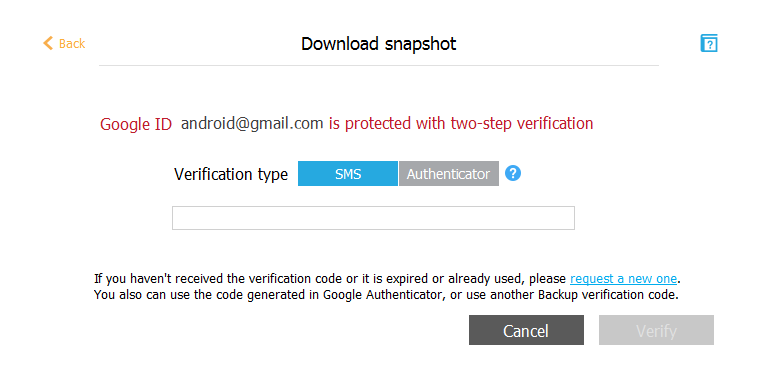 google verification code text message not appearing