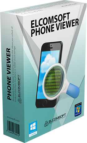 Elcomsoft Phone Viewer Elcomsoft Co Ltd