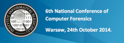 The 6th National Conference of Computer Forensics